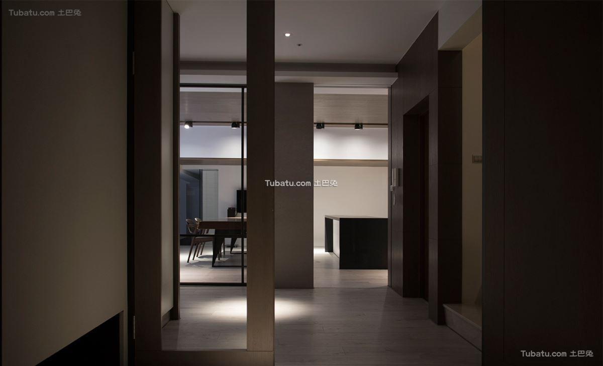 现代典雅风情玄关设计