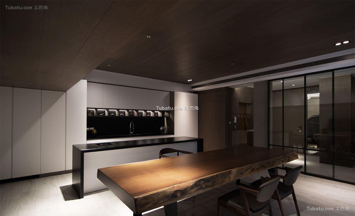 现代典雅风情餐桌设计