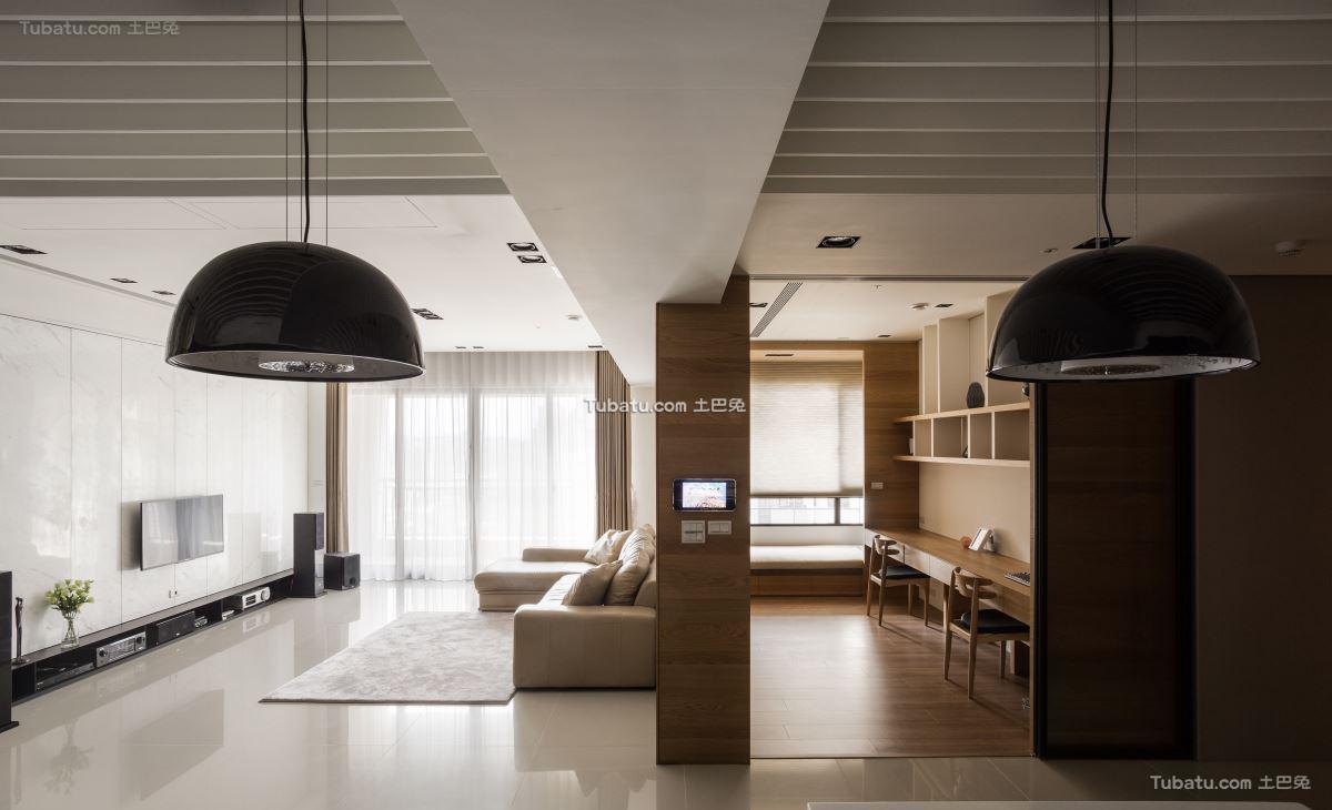 典雅现代风格四居设计
