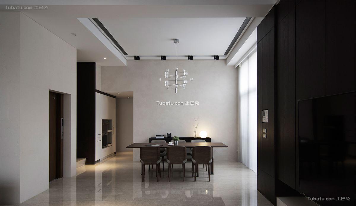 现代典雅风情餐厅设计