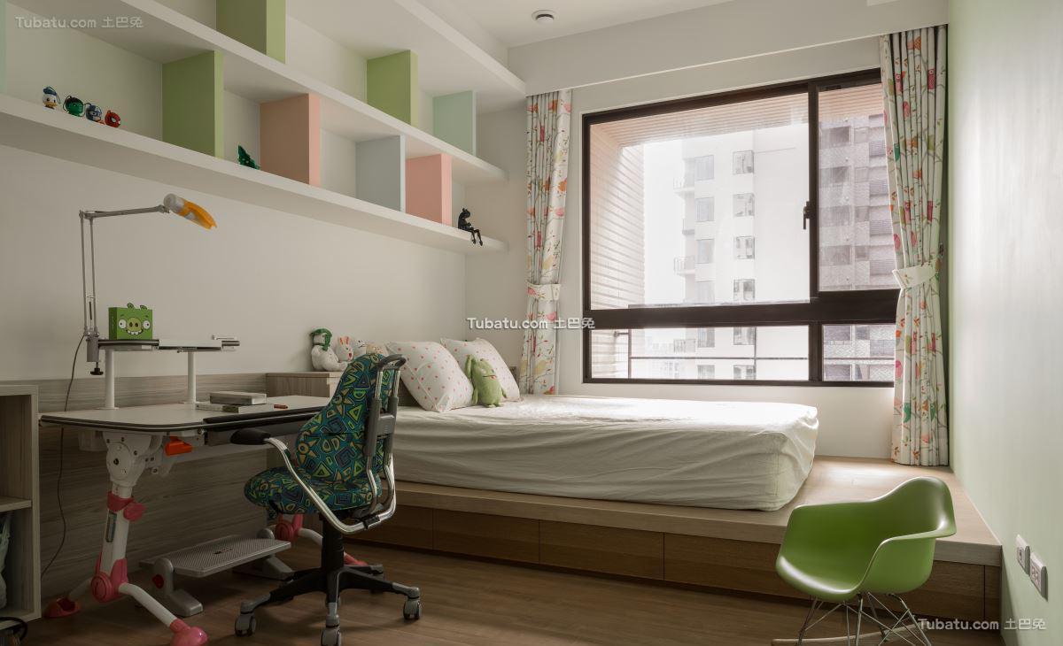 典雅现代风格儿童房设计