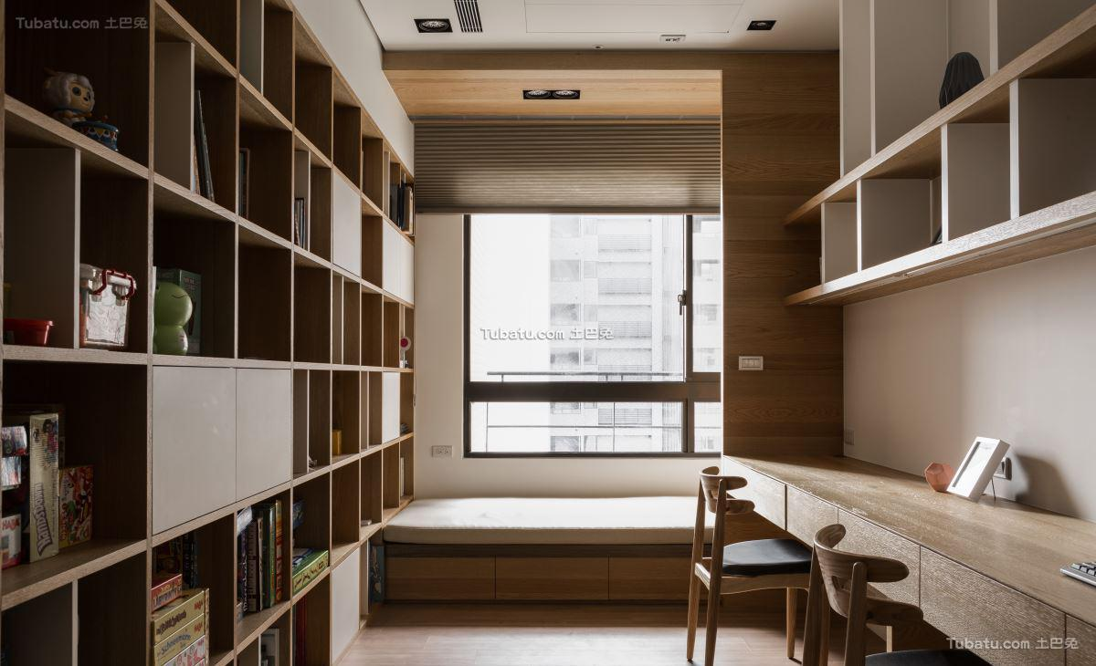 典雅现代风格书房设计