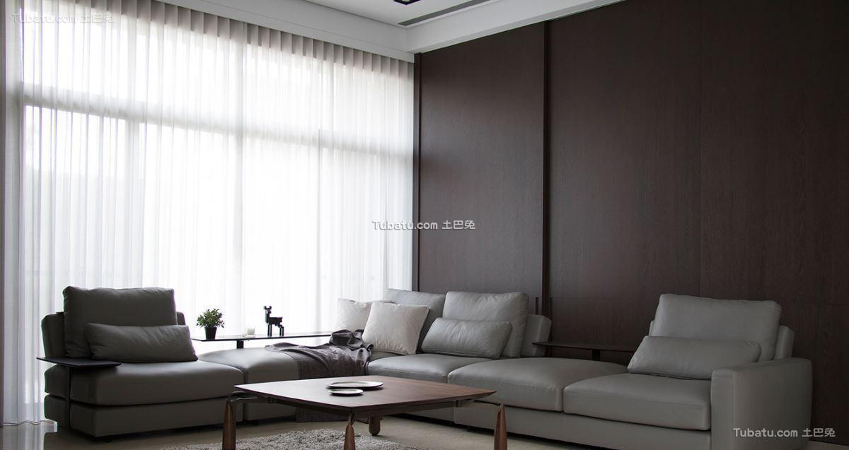现代典雅风情三居设计