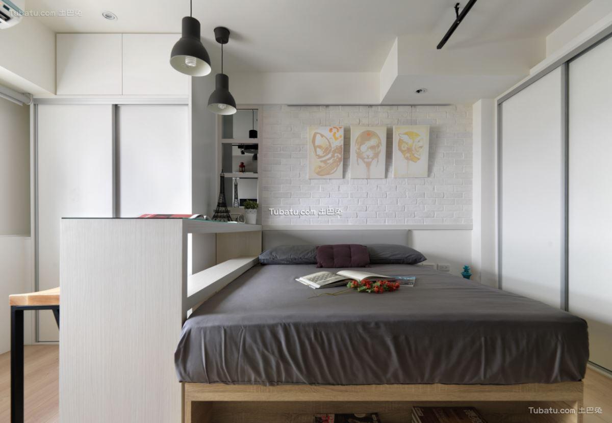 北欧家装风卧室设计