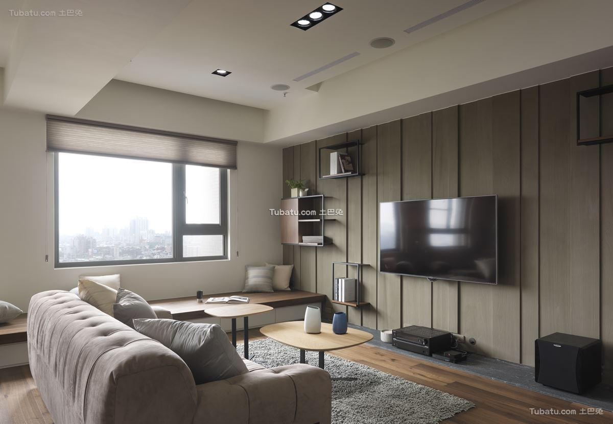 现代风家装客厅装修图