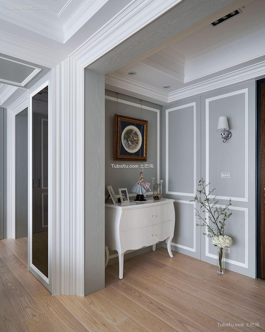 新古典家装风玄关设计