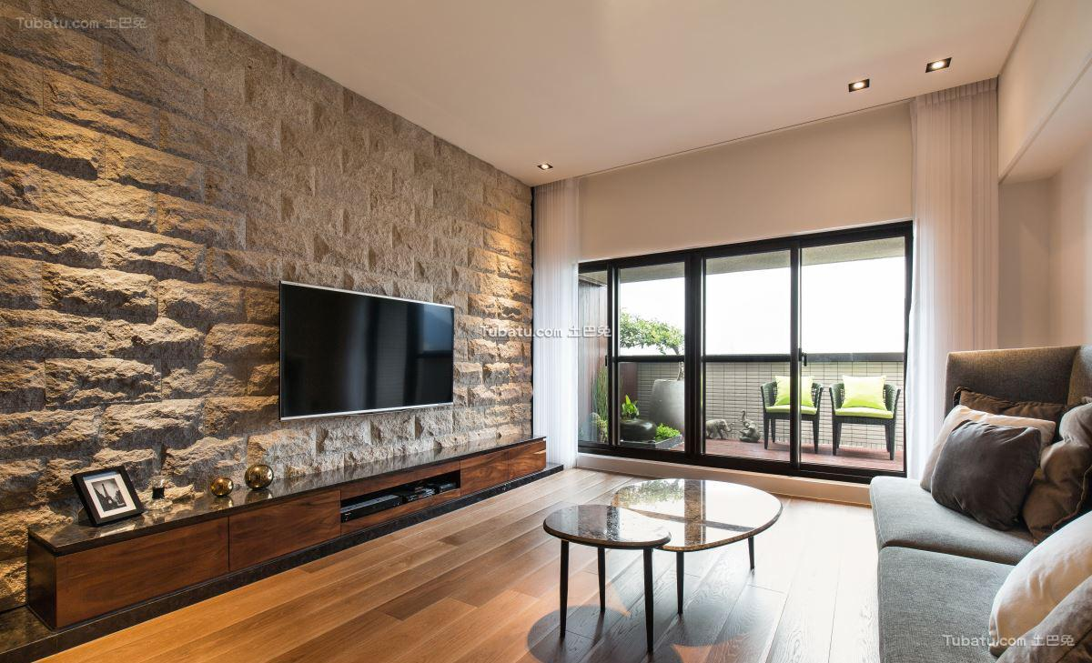 现代居家风一居设计