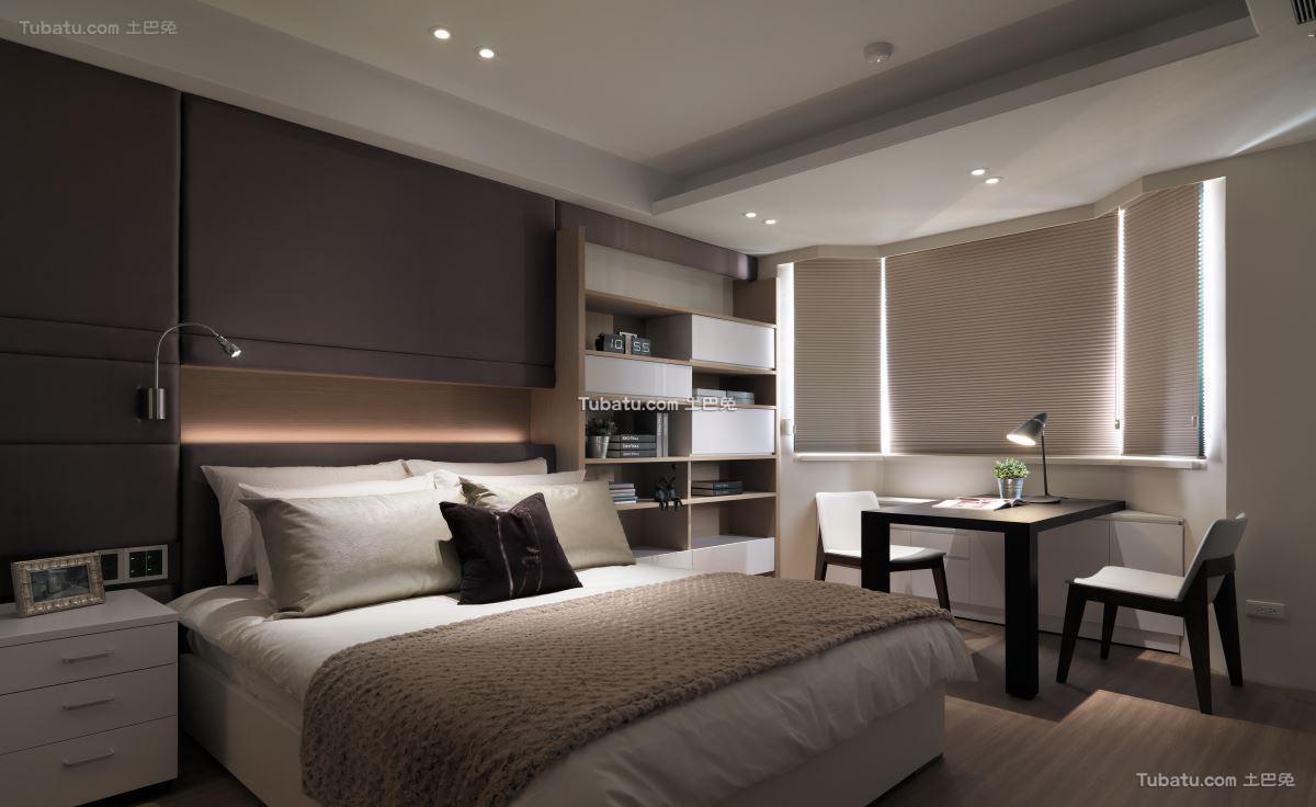典雅风现代卧室设计