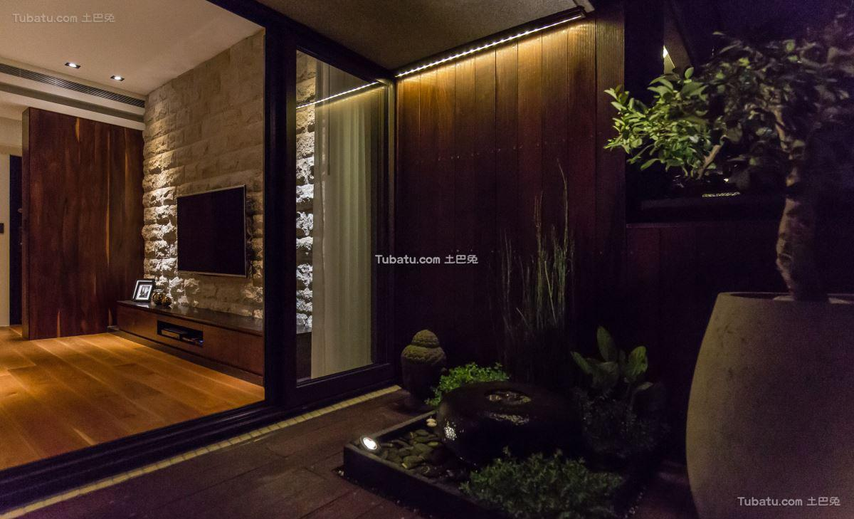 现代居家风花园设计