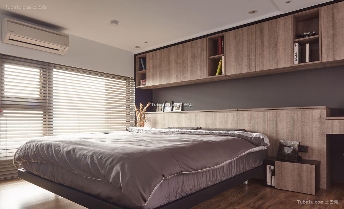 居家美式卧室装修图