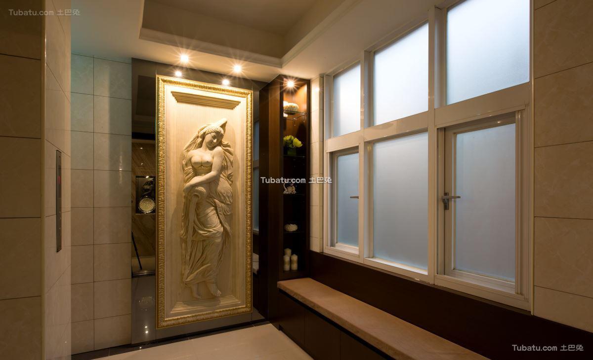 欧式典雅风窗户装修