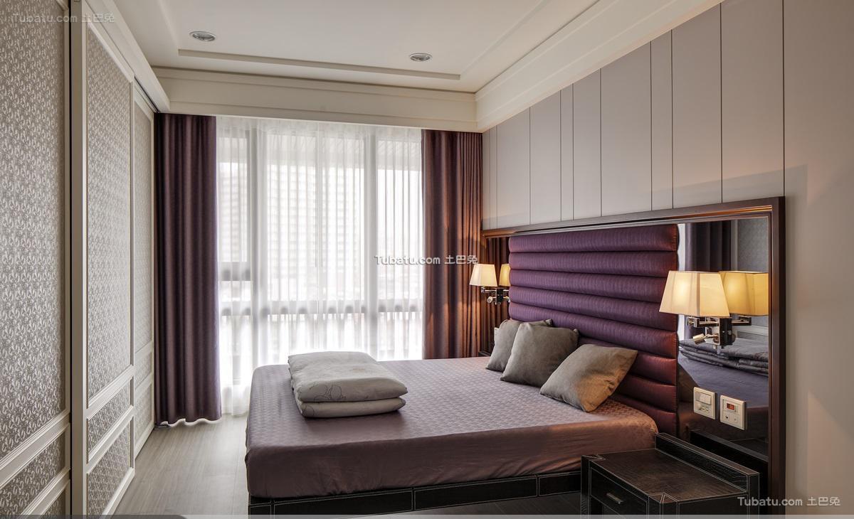 新古典家装典雅卧室效果图