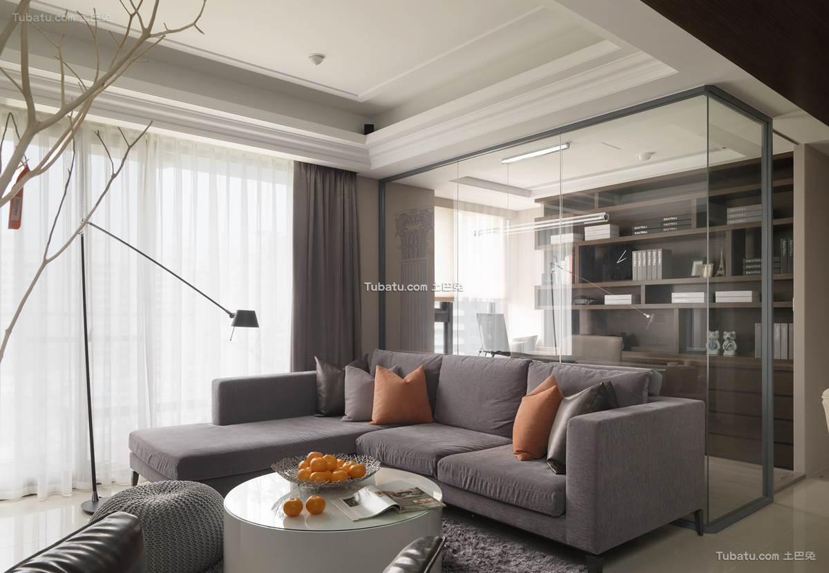 新古典时尚居家客厅设计