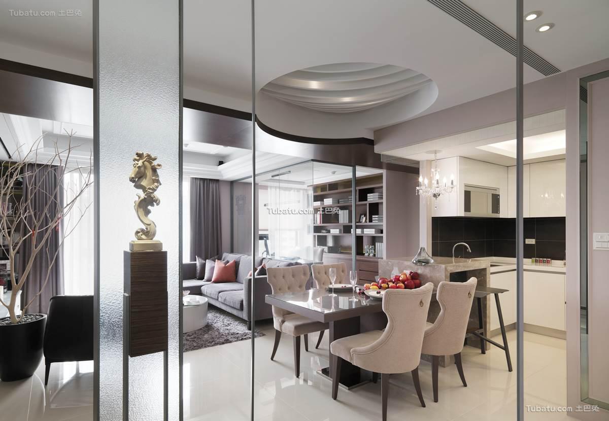 新古典时尚居家餐厅设计
