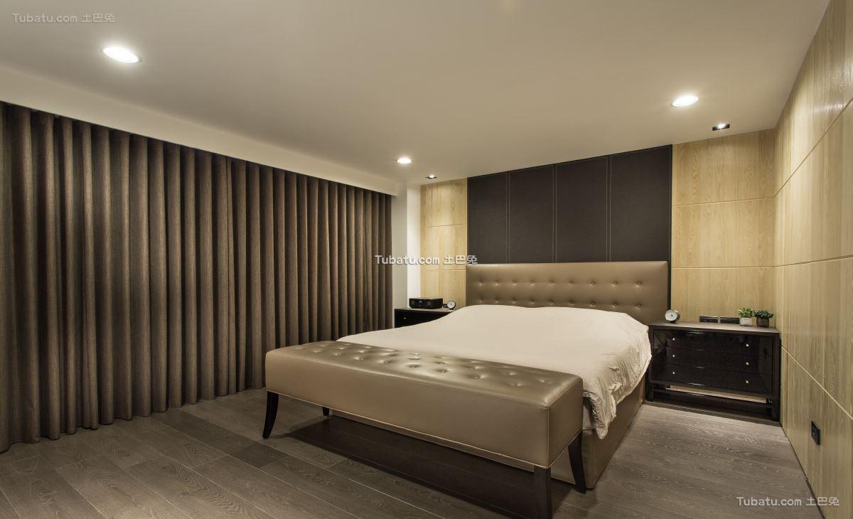 典雅现代风卧室设计