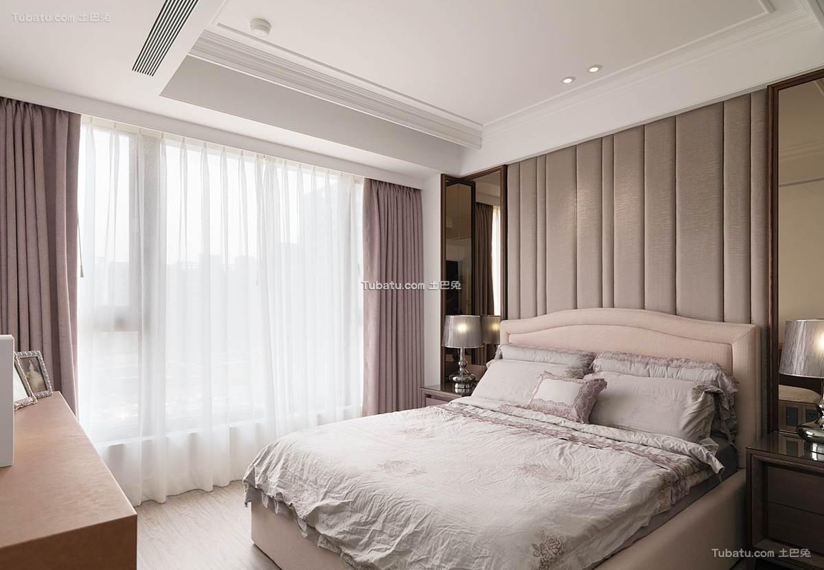 新古典时尚居家卧室设计