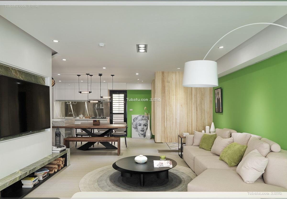 现代典雅家装客厅设计