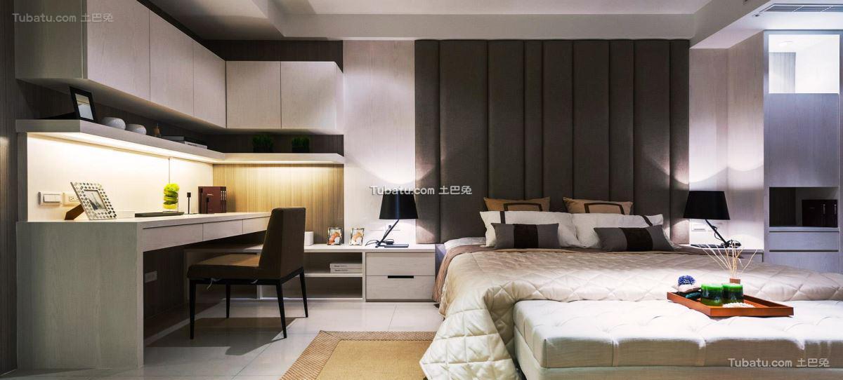 北欧时尚风家装卧室装修