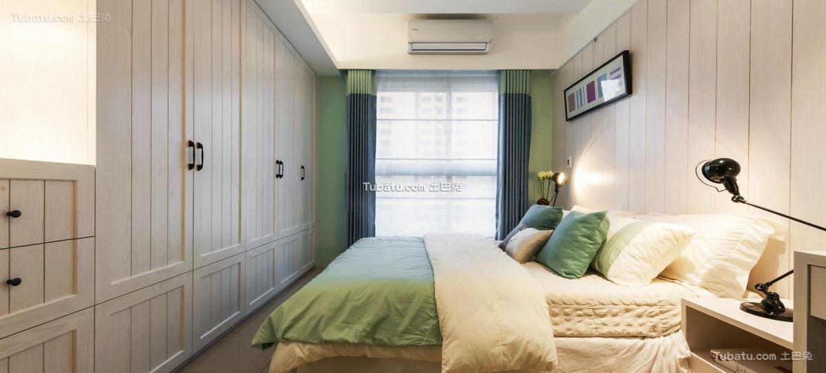 北欧时尚家装卧室装修