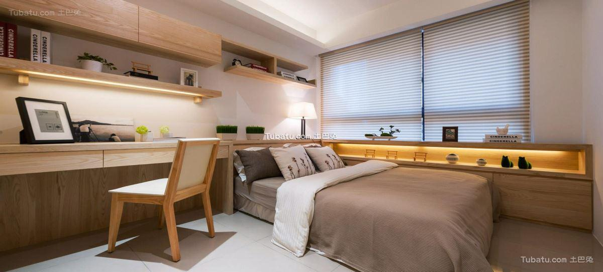 北欧时尚家装卧室装修图