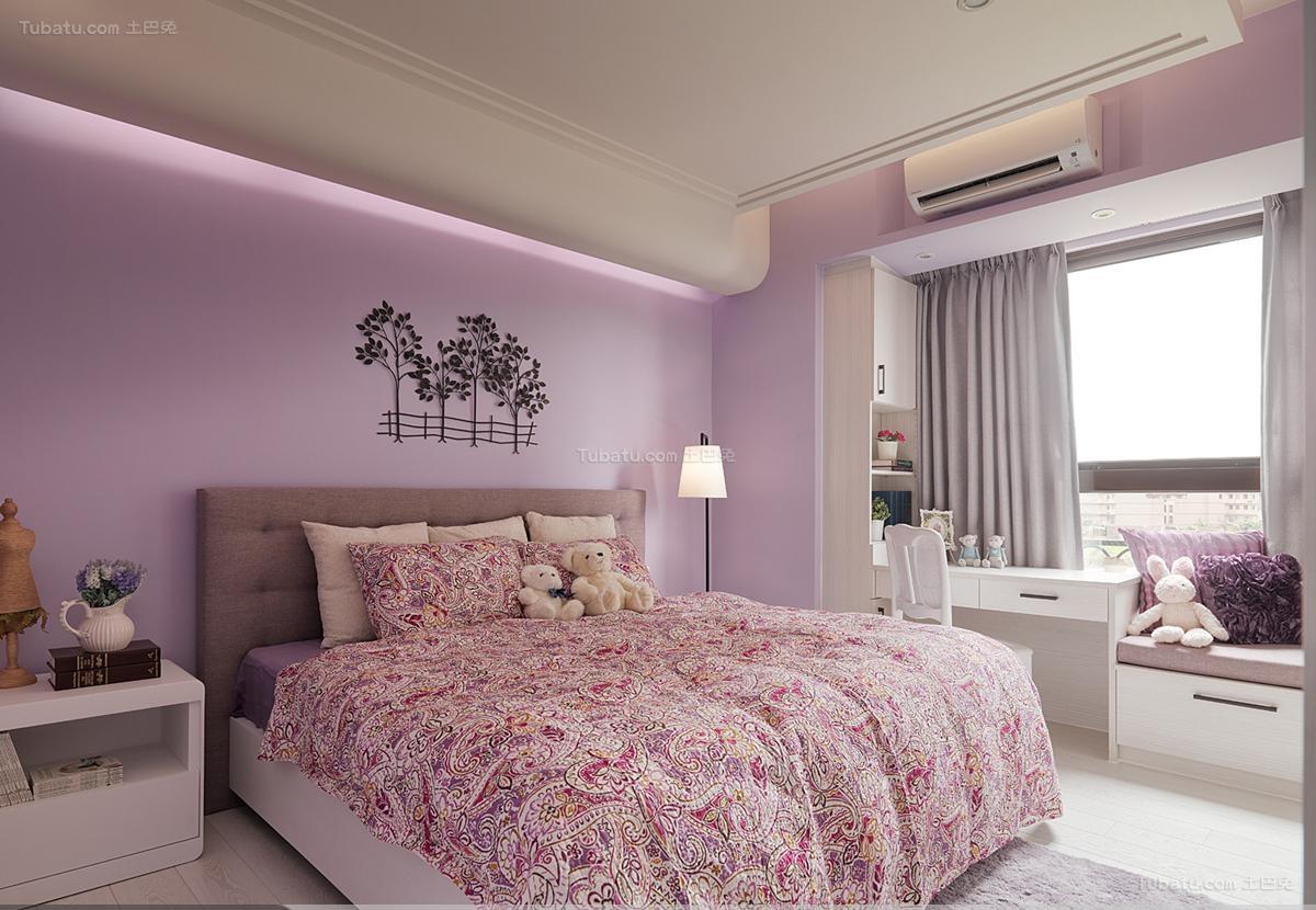 时尚家装田园卧室设计