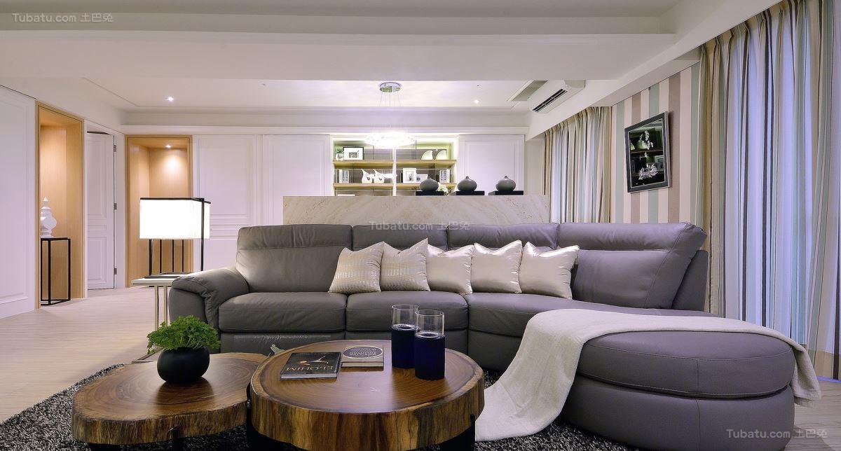 美式典雅家居一居设计图