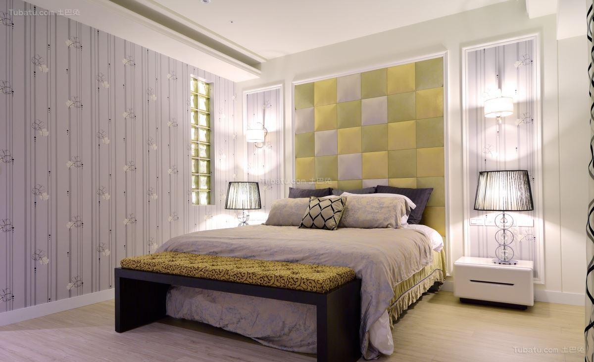 美式典雅家居卧室设计图