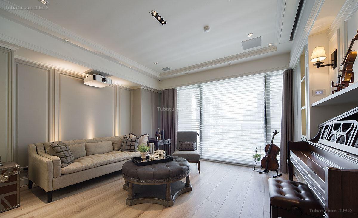 新古典时尚家居客厅装修图