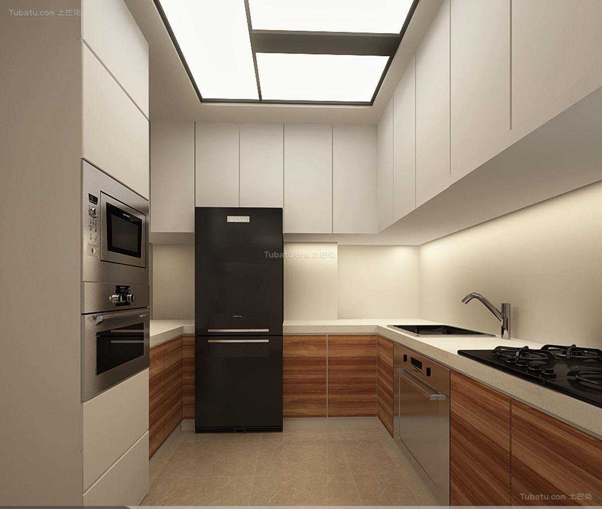 新古典家居风格厨房效果图