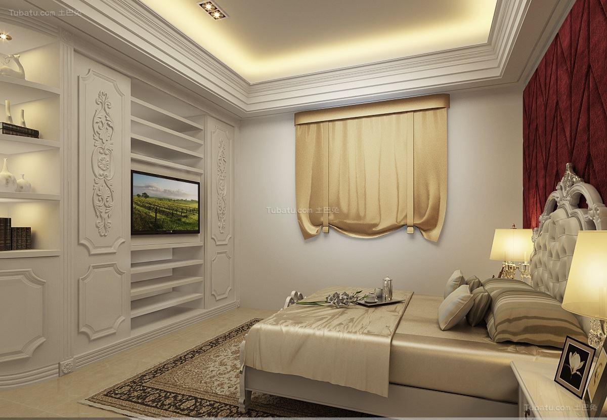新古典家居风格卧室效果图
