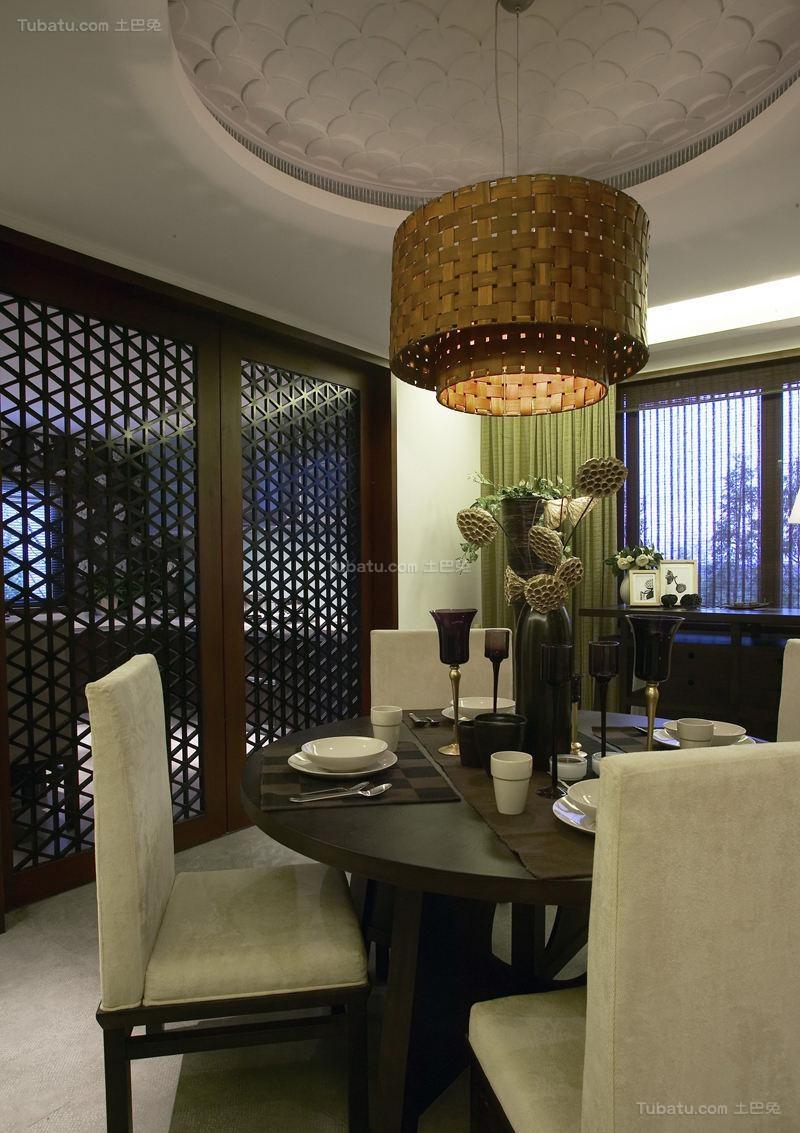 东南亚装修风格餐厅设计效果图