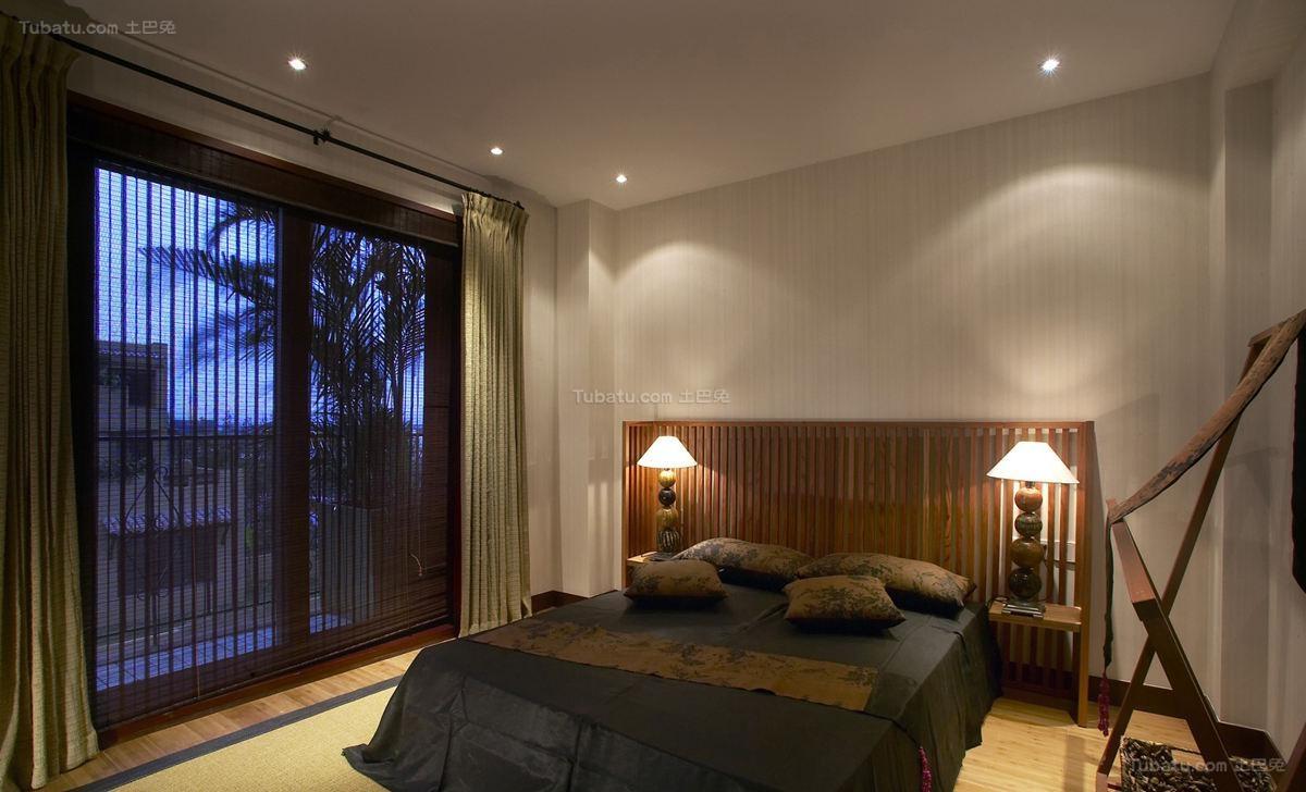 东南亚装修风格卧室设计效果图