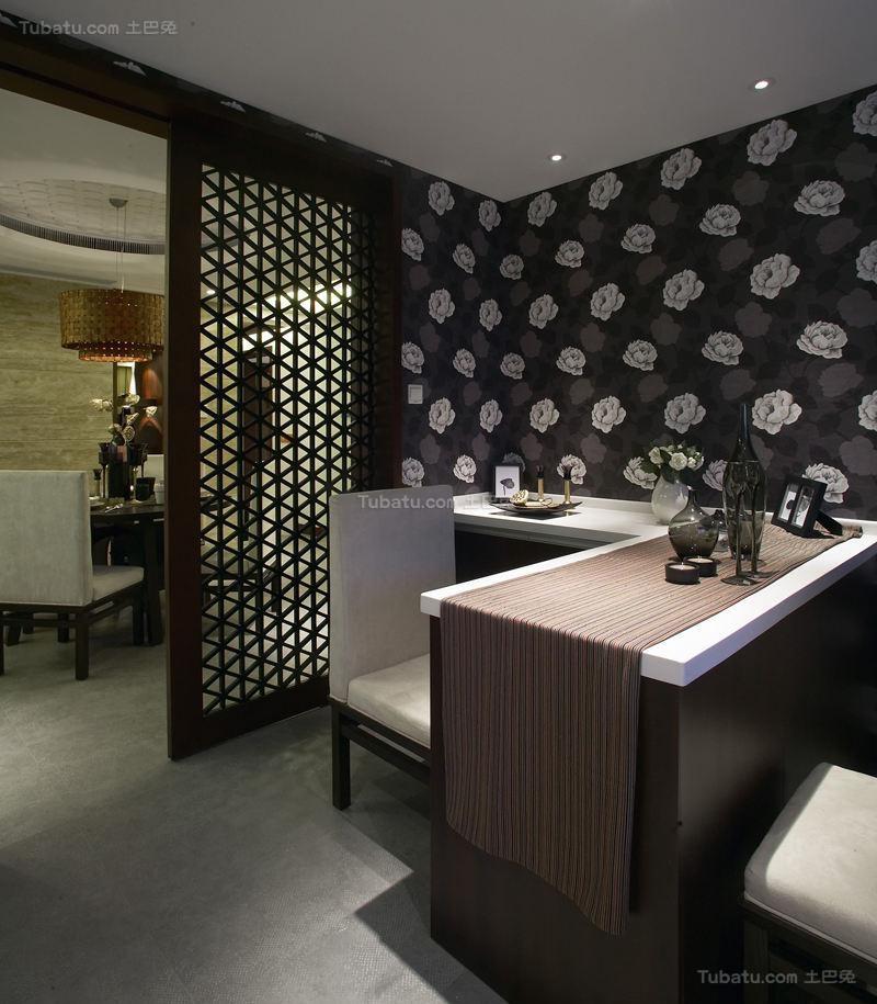 东南亚装修风格吧台设计效果图