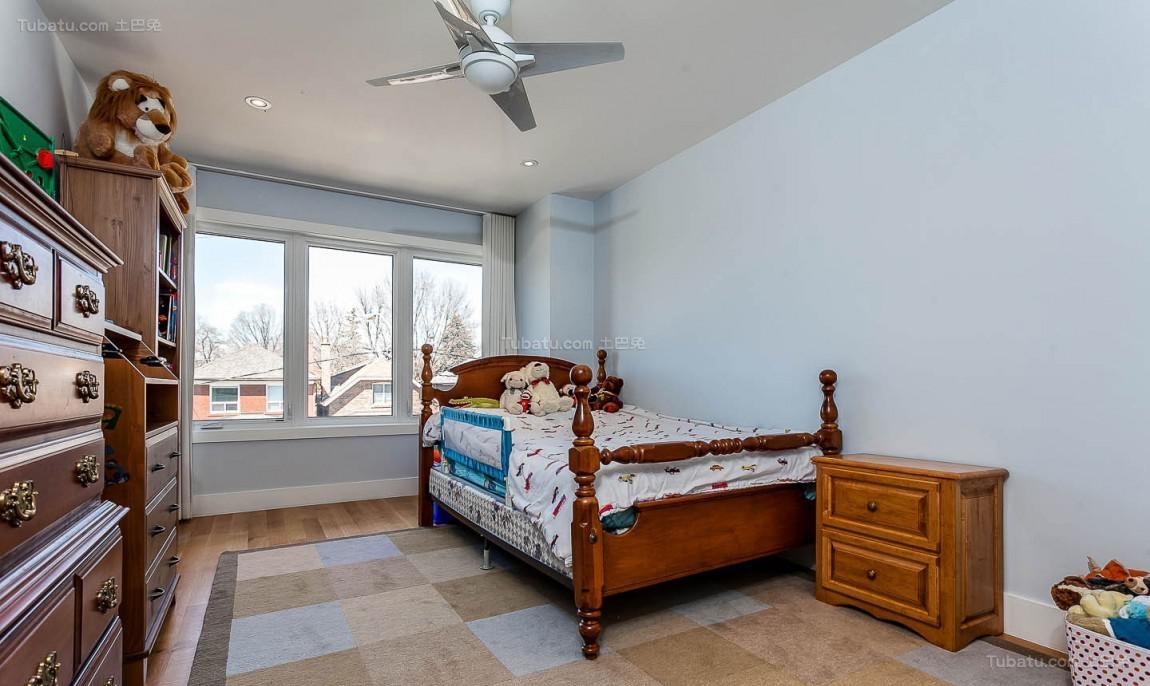 美式创意个性卧室装修效果图