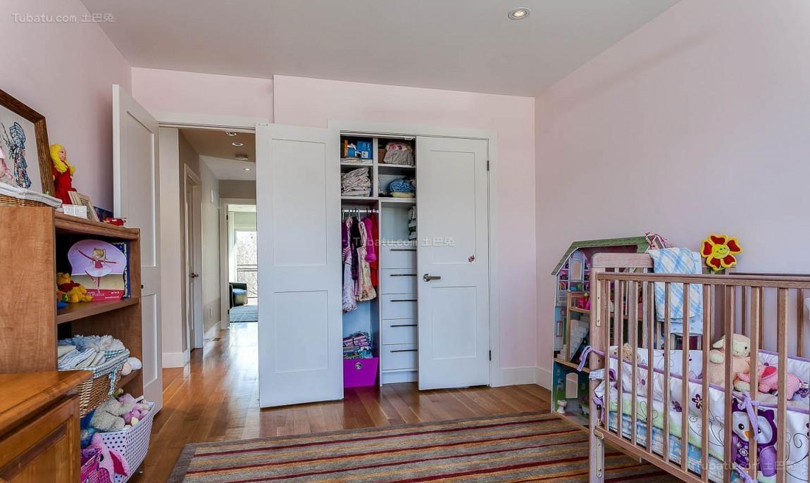 美式温馨儿童房细节效果图展示