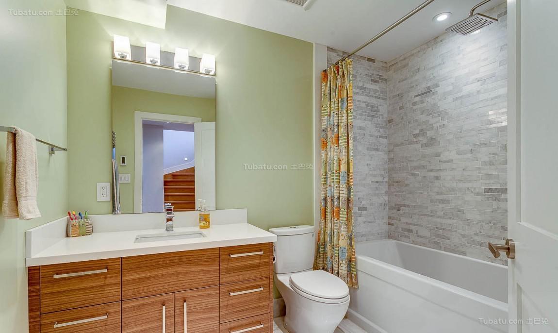 美式家居卫生间设计效果图展示
