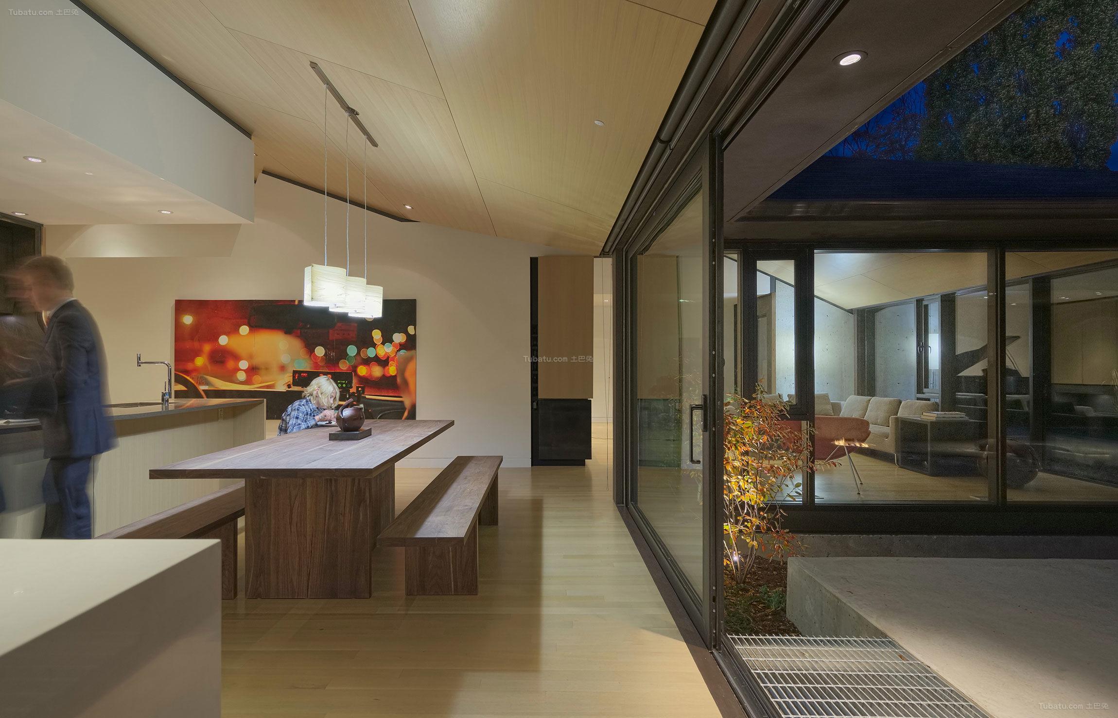 日式装修风格餐厅效果图片