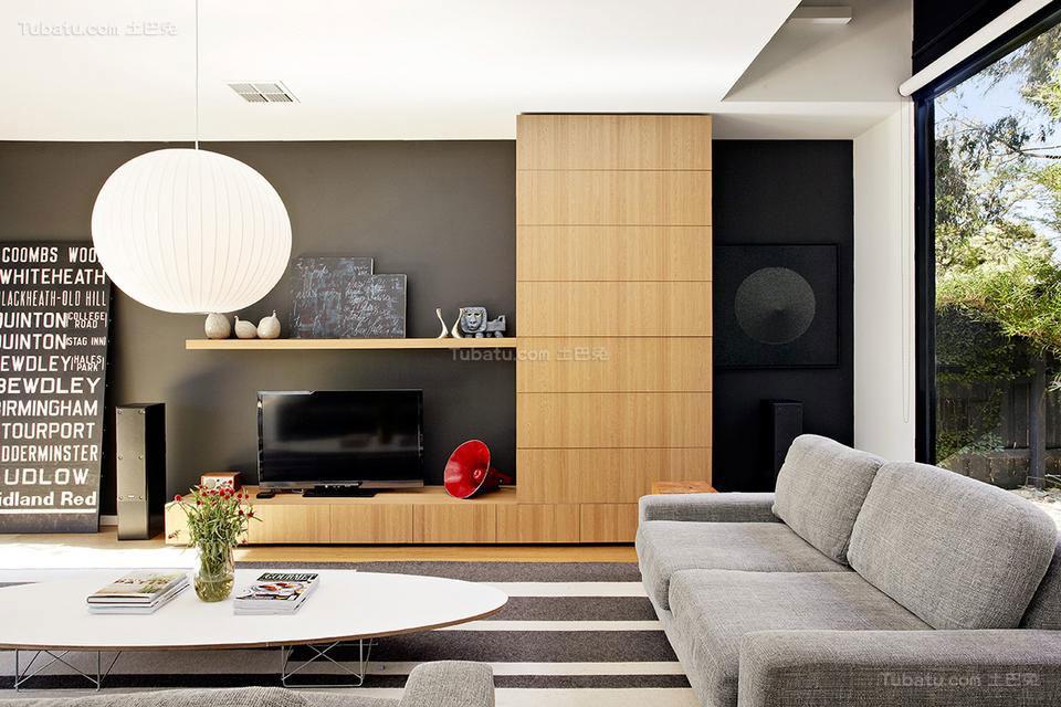 美式家装电视背景墙效果图片