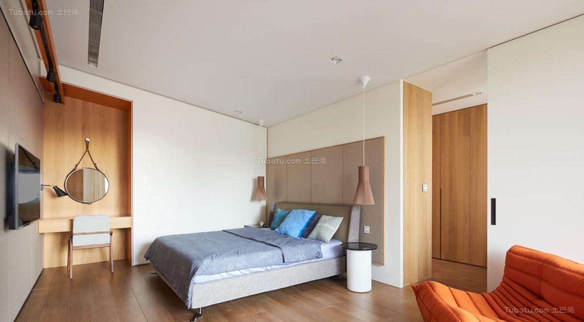 现代装修风格卧室效果图片展示