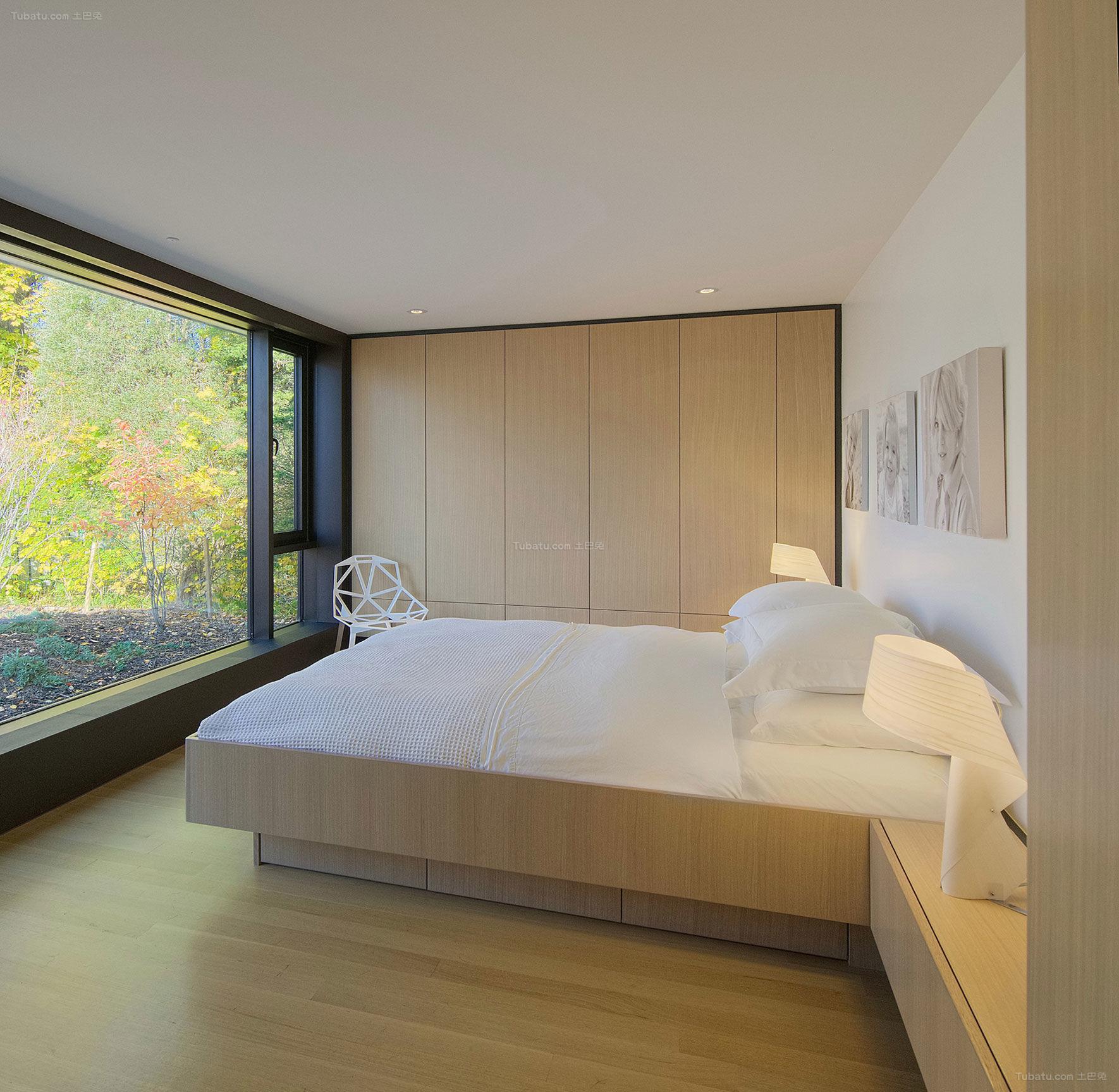 日式装修风格卧室效果图片