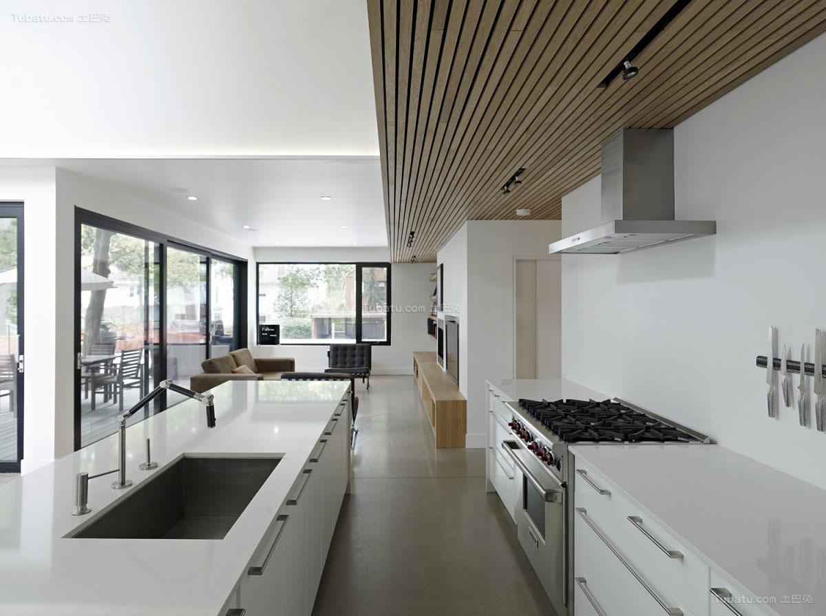 简欧装修风格厨房效果图片
