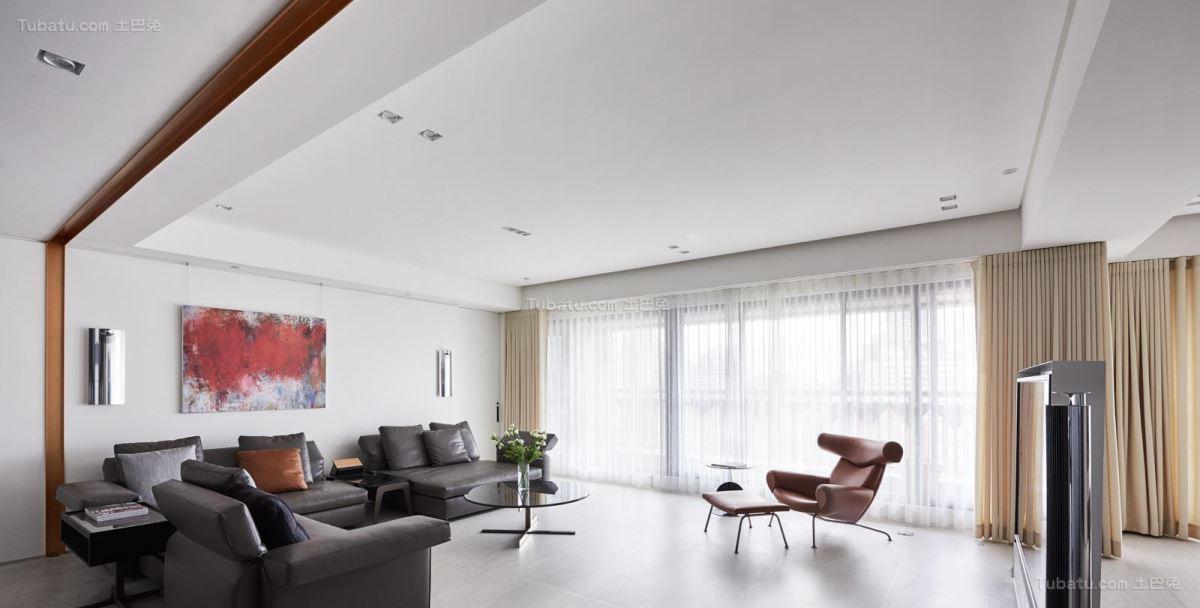 现代装修风格客厅效果图片展示