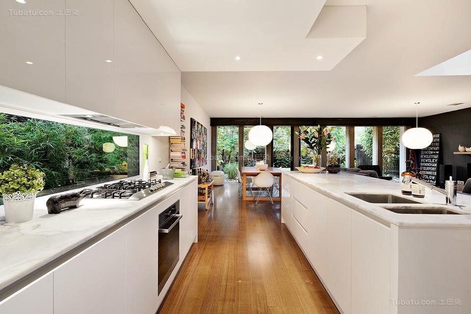 美式装修风格厨房装修效果图片