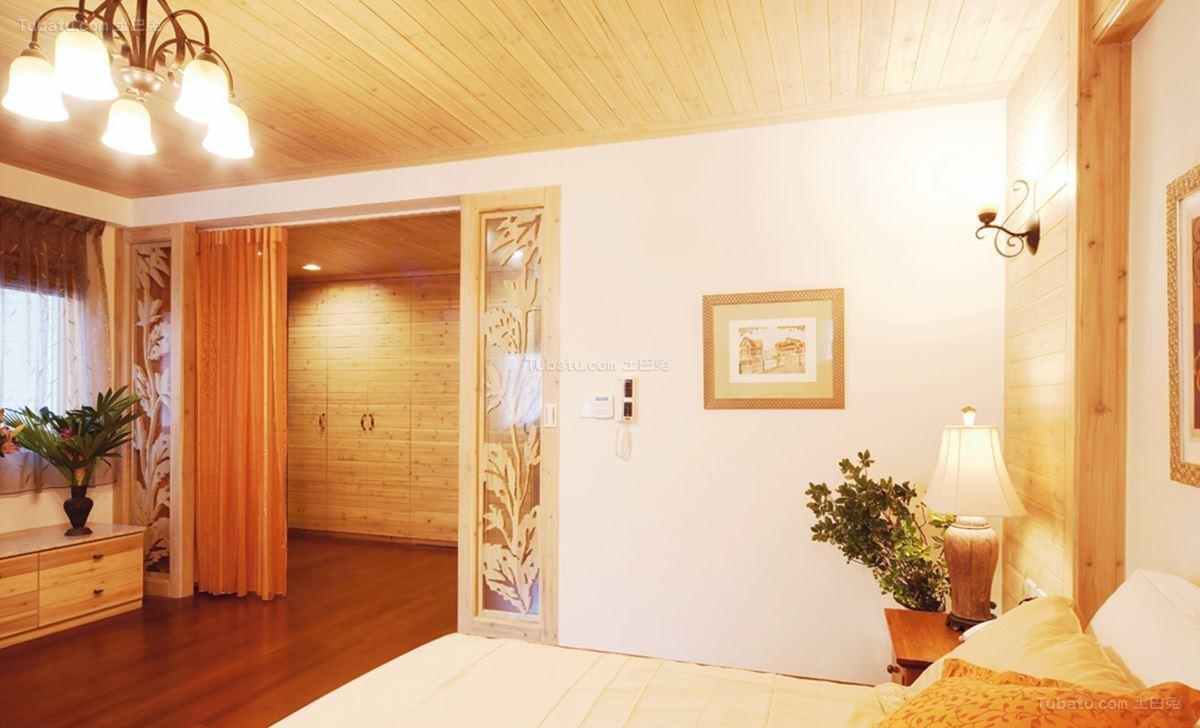 田园温馨家居卧室装修图片