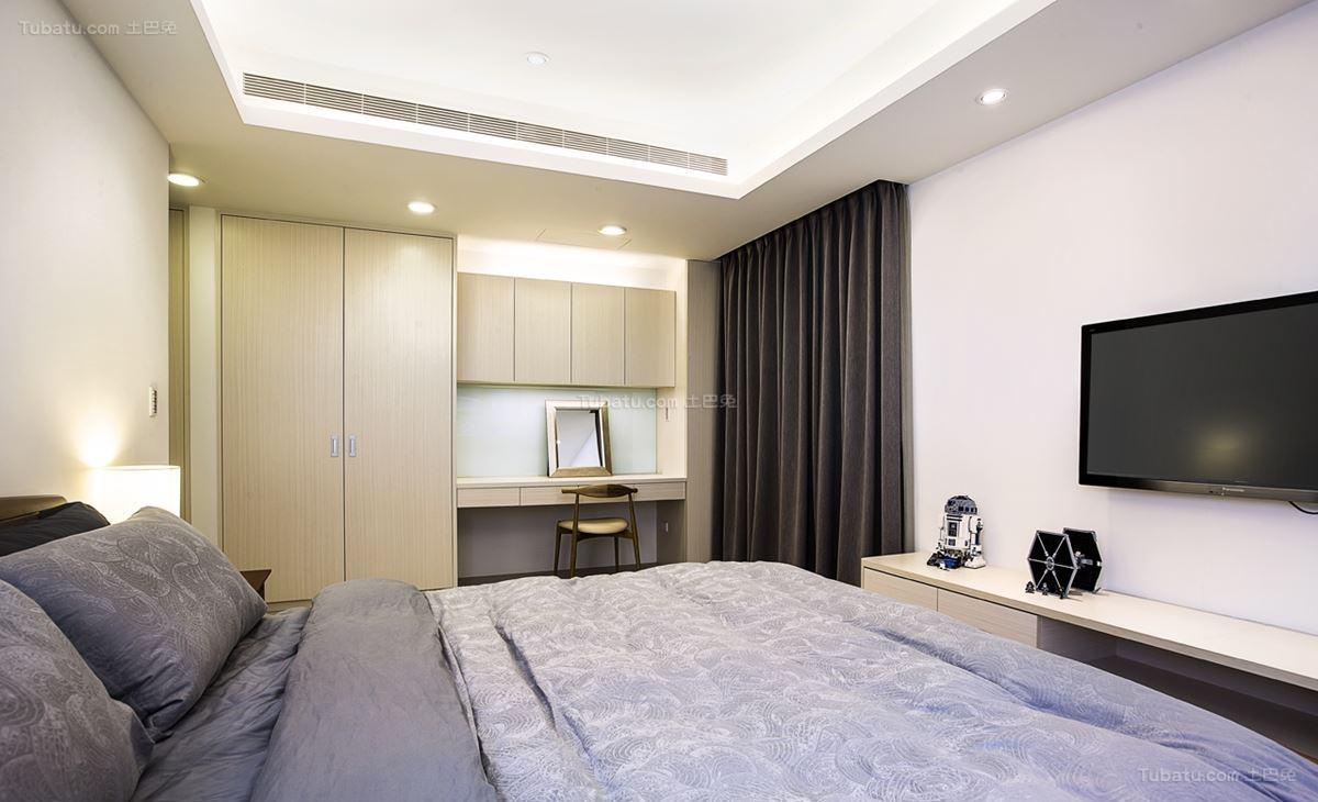 现代品质生活卧室装修效果图