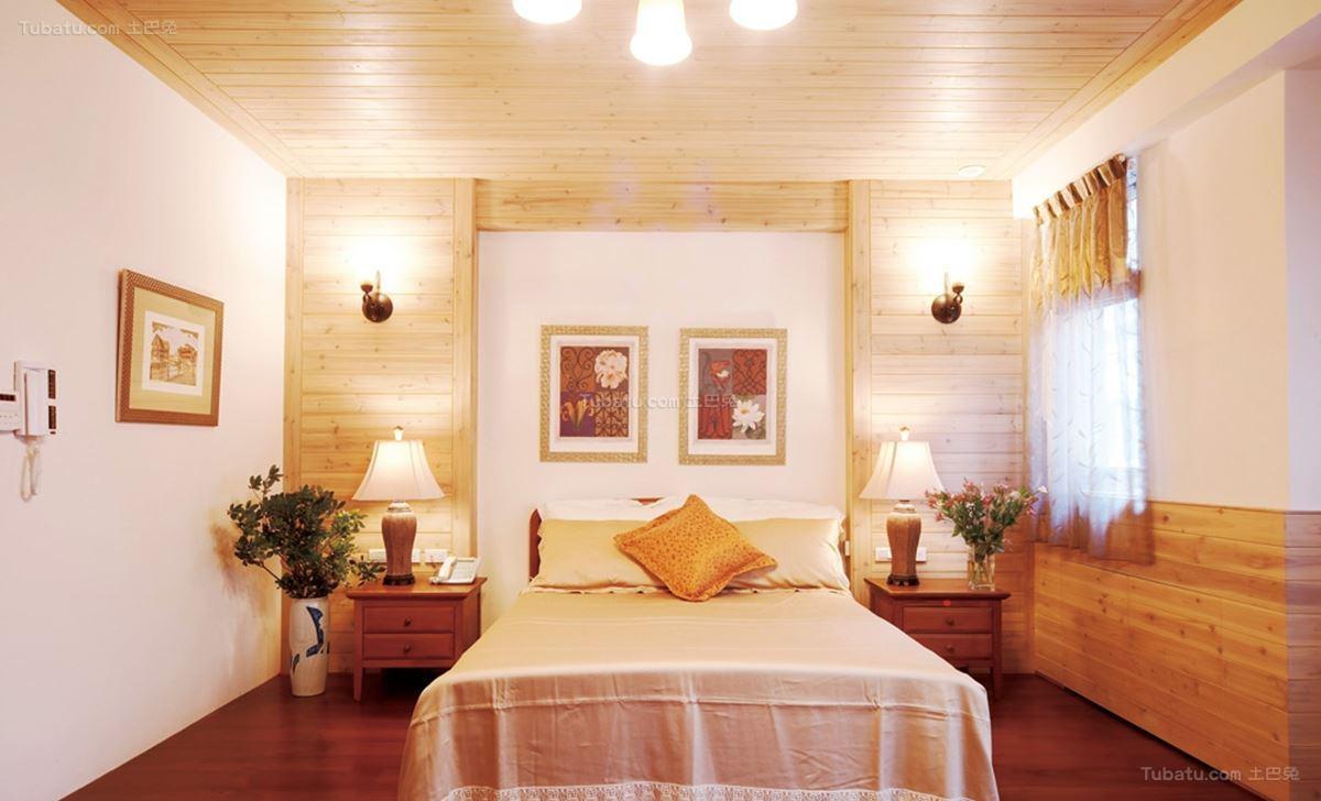 田园温馨家居卧室装修图