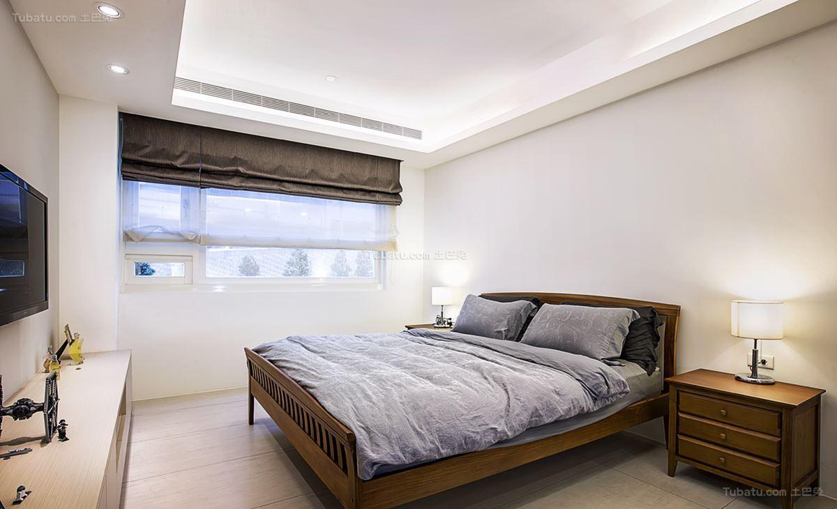 现代品质家装卧室效果图