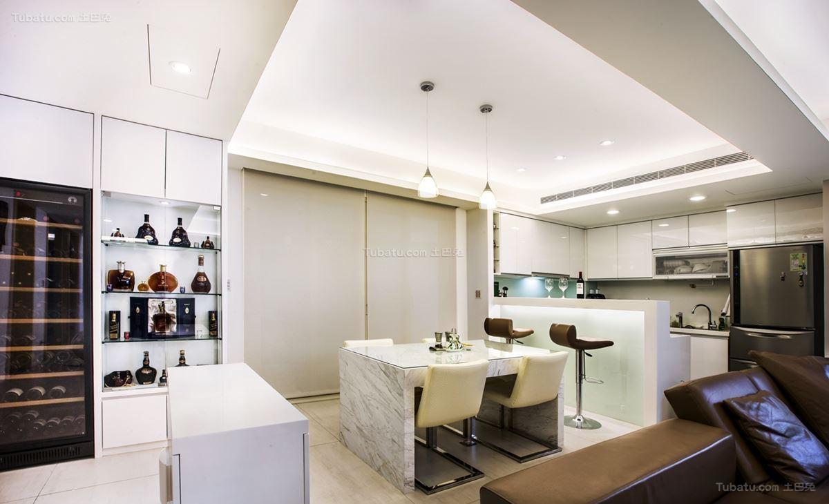 现代三居室餐厅装修效果图展示