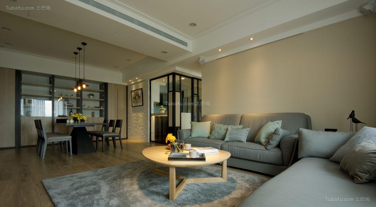 现代优雅别致三居室装修图片