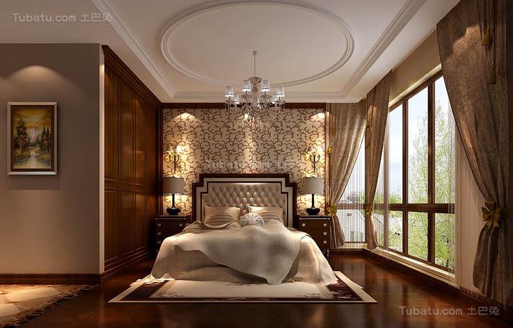 简欧精致卧室装修设计